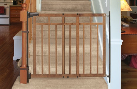 Banister To Wall Gate