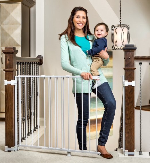 Top Of Stairs Gate For Banister