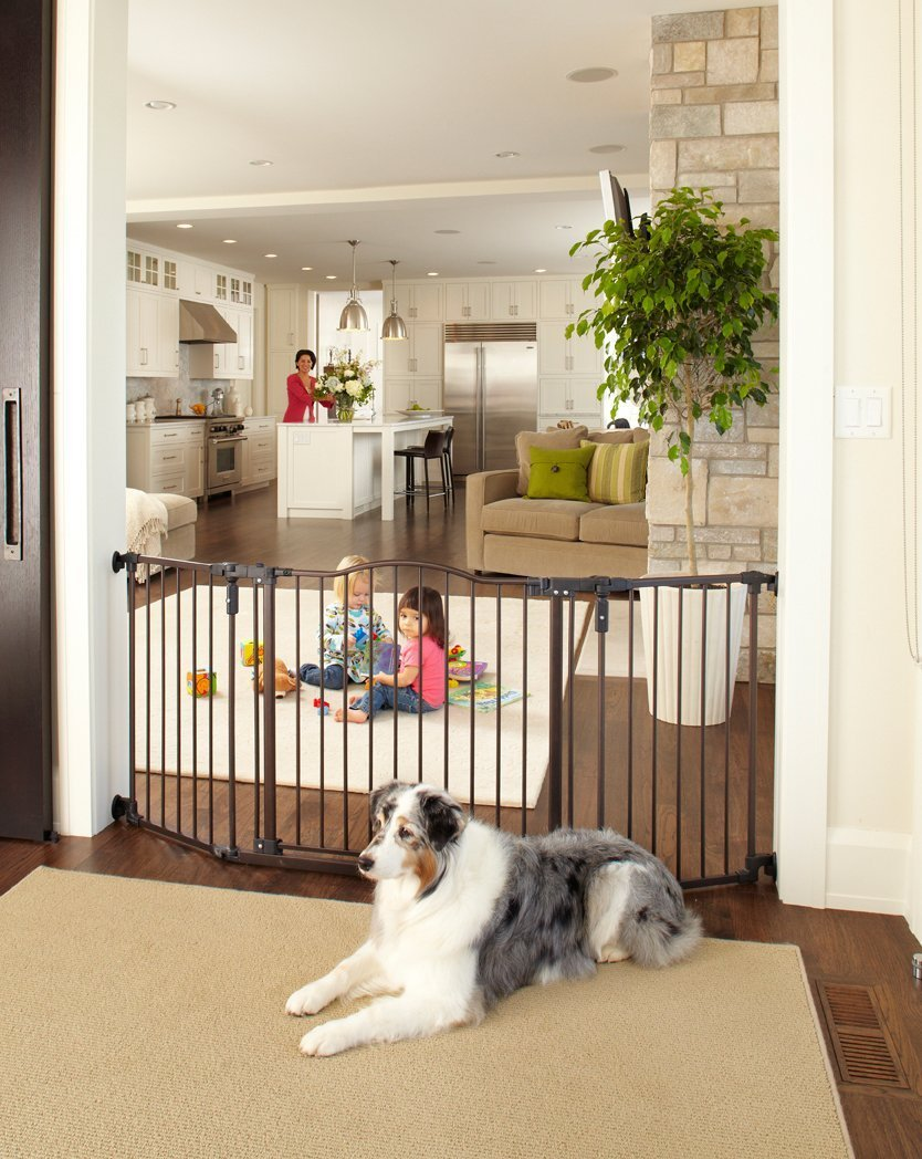 NorthGates Supergate Deluxe Decor Metal Gate