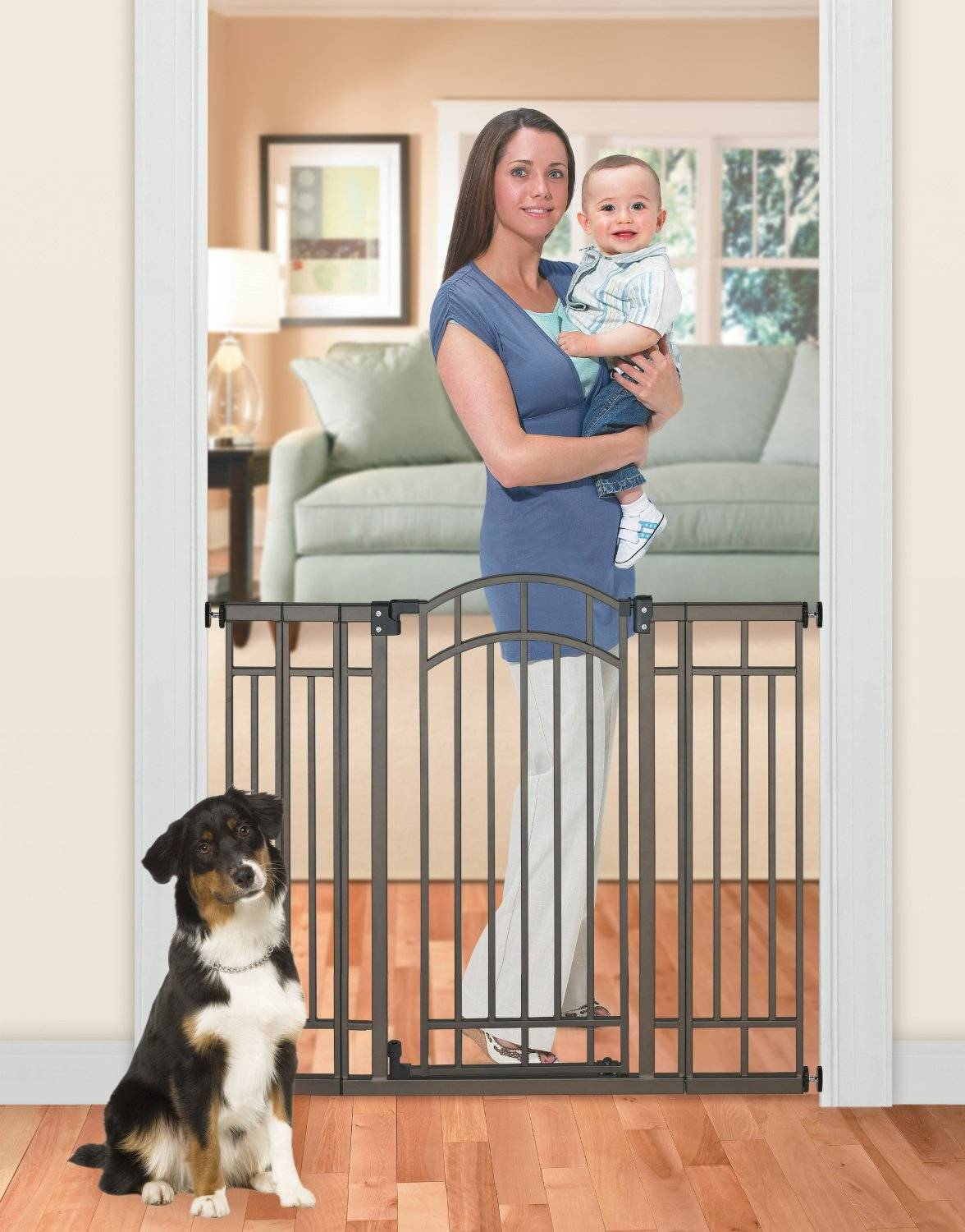 Summer Infant Multi Use Deco Extra Tall Walk Thru Gate