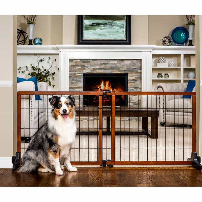 This Freestanding Gate Is Also A Pressure Mount Which Means This Product  Has Two In One Capabilities. Unlike Some Free Standing Pet Gates That Can  Be Easily ...