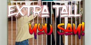 Top 6 Extra Tall Baby Gate