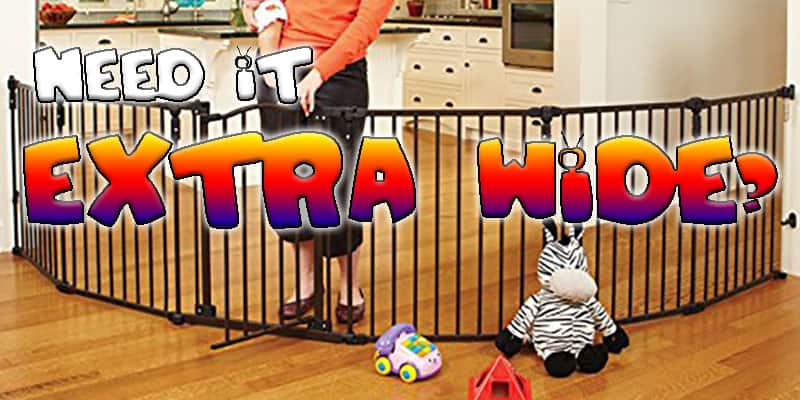 Top 5 Extra Wide Baby Gates
