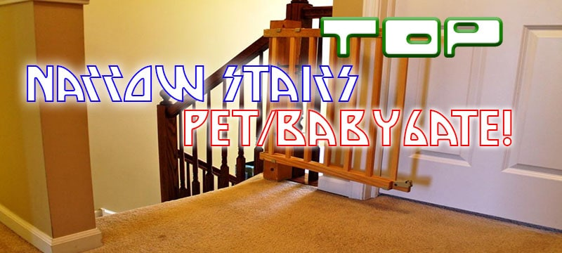 Top 5 Narrow Stair Baby Or Pet Gate 2019 Reviews