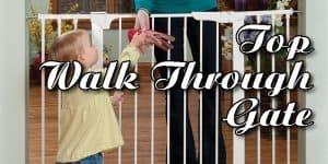 Top 5 Walk Through Baby Gate