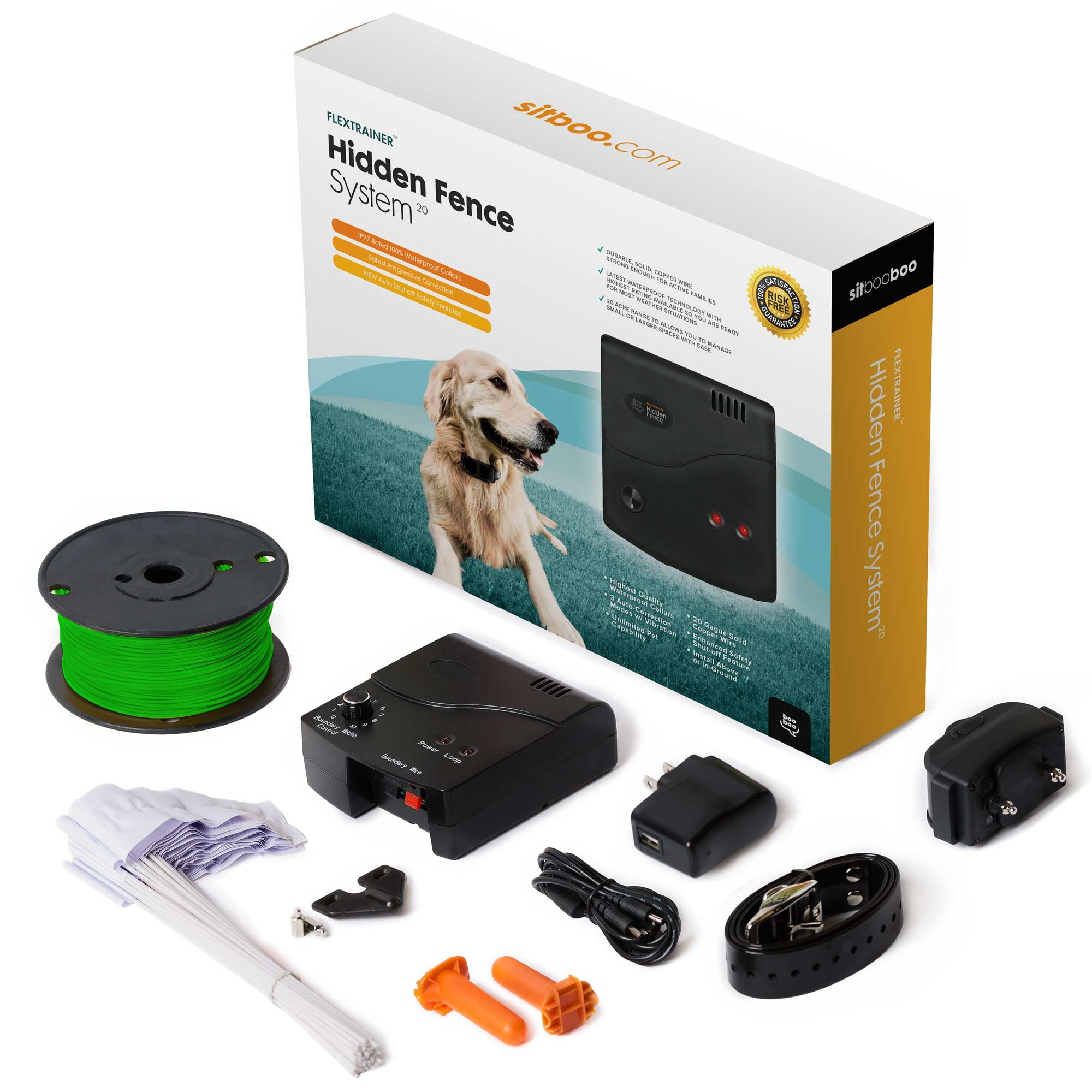 Top 6 Best Rated Wireless Electric Dog Fence Systems